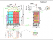 An AutoCAD DWG of the cargo particulars.