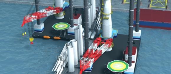 3D Model for New build vessel