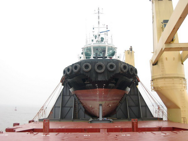 460ton Tug Loaded - Fore