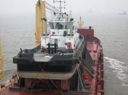 460ton Tug Loaded - Sailing