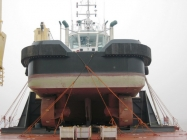 460ton Tug Loaded - Aft