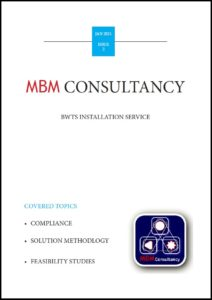 MBM Consultancy provide BWT for Shipowners.
