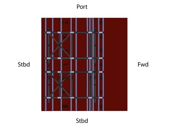 Macchi Boiler 3D Stowage Plan