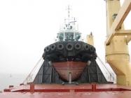 460ton Tug Loaded - Fore