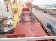 460ton Tug Loading - Frame In Place